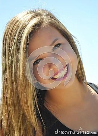Fresh Faced Girl Royalty Free Stock Photos - Image: 15945108