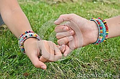 Friendship Bracelets Stock Photo Image 26429250