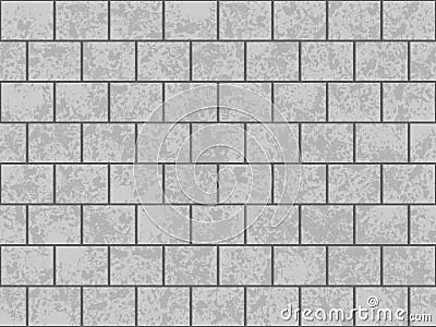 Gray Block Wall Royalty Free Stock Images Image 3879219