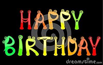 Happy Birthday Stock Photography Image 9467752