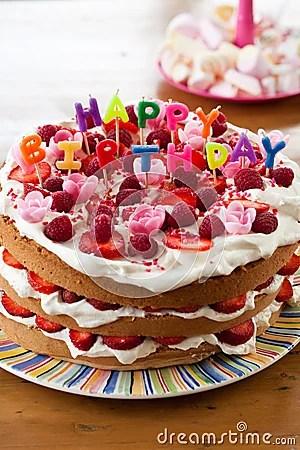 Happy Birthday Cake Royalty Free Stock Images Image