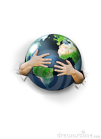 Hug Earth Stock Photography Image 16348052