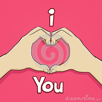 Download I Love You Hand Symbol Stock Vector - Image: 64339767