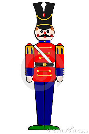 Isolated Toy Wooden Soldier Stock Photo Image 7348960