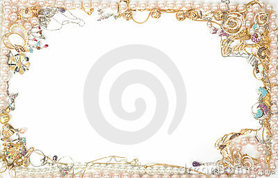 Jewelry Border Royalty Free Stock Images Image 16612819
