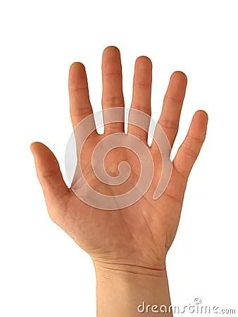6º cumpleaño, 6 dedos de la mano