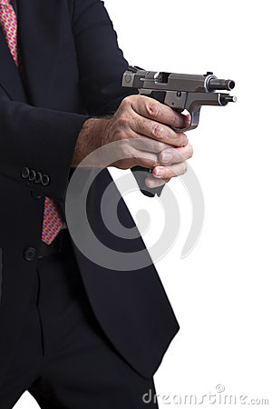 In The Middle Of Shooting Royalty Free Stock Photo - Image ...