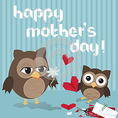 Mothers Day Owl Stock Photos Image 29479053