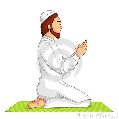 Muslim Offering Namaaz Royalty Free Stock Photos Image