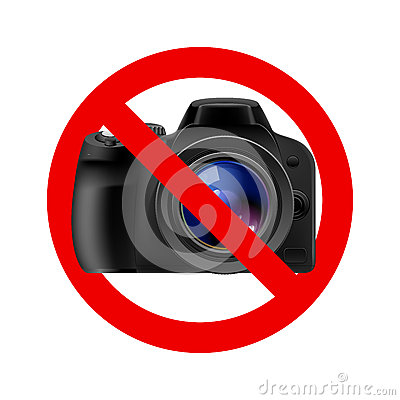 No Camera Allowed Sign Stock Photos Image 27181323