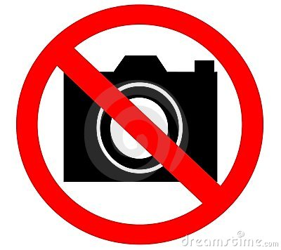 No Camera Prohibited Banned Forbidden Royalty Free Stock ...