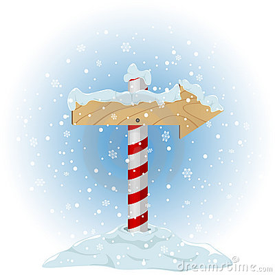 North Pole Sign Stock Photos Image 22128393