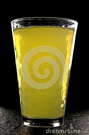 Orange Squash In Glass Royalty Free Stock Photo Image