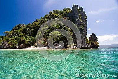 Pacific Desert Island Stock Photo Image 1502790