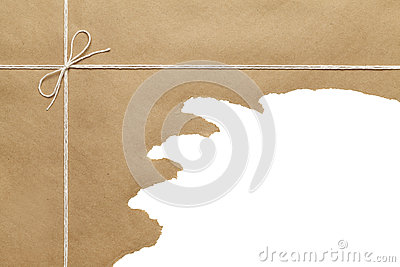 Package Ripped Stock Photography - Image: 38680532