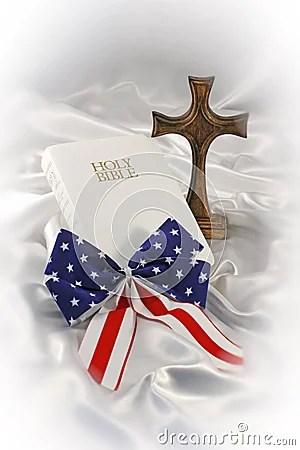 Patriotic Religious Still Life Stock Image Image 5433781