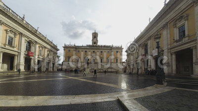 Piazza Del Campidoglio Stock Footage - Video: 48580670