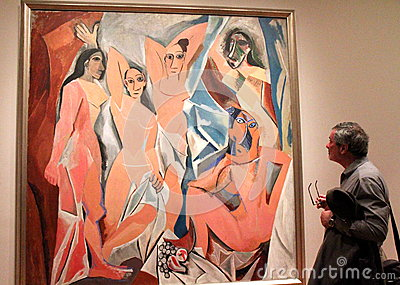 Picasso painting Editorial Image