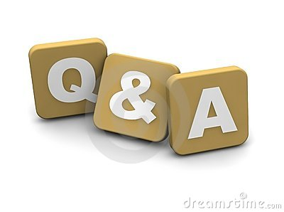 Questions And Answers Text Stock Photography Image 13493652