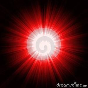Red Light Burst Stock Images  Image: 10206634