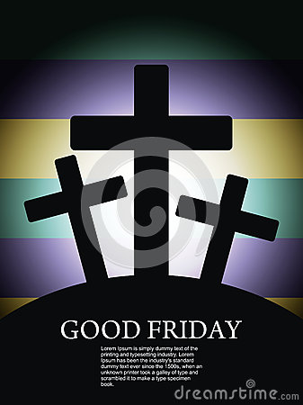 Religious Background For Good Friday Royalty Free Stock
