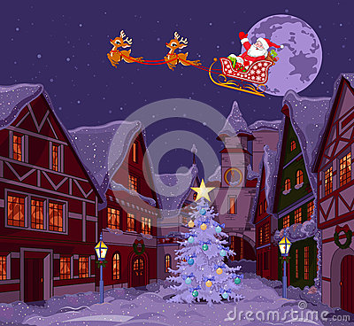 Santas Sled Stock Photography Image 35685922
