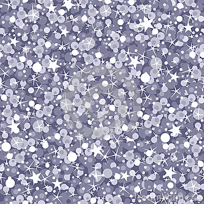 Silver Sparkles Seamless Pattern Background Royalty Free