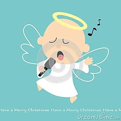 Singing Angel Royalty Free Stock Photo Image 8969735