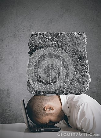 Stress At Work Stock Photo - Image: 28655120