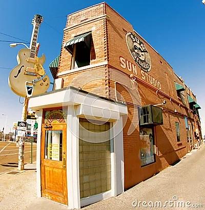 Sun Studio, Memphis Tennessee Editorial Stock Photo ...