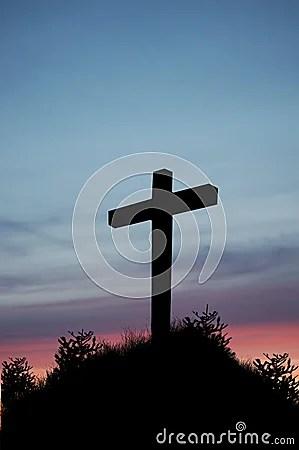 Sunset Cross Stock Photos Image 18447383