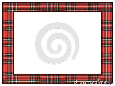 Tartan Quilt Frame Stock Images Image 35119324