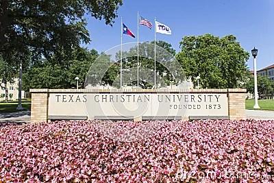 Texas Christian University Editorial Stock Photo - Image ...