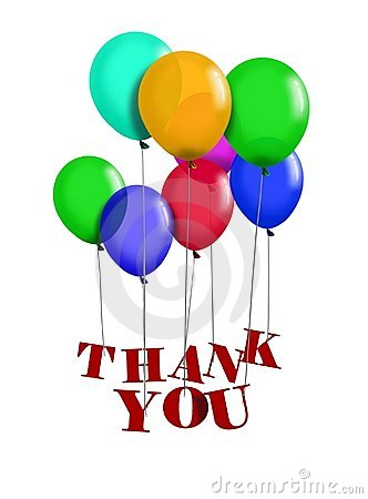 Thank You Balloon Royalty Free Stock Images Image 20573559