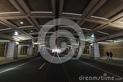 Tunnel Beneath Philadelphias Convention Center Editorial ...
