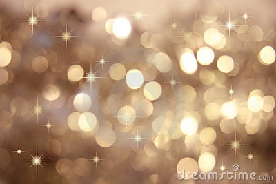 Twinkle Twinkle Little StarsGold Royalty Free Stock