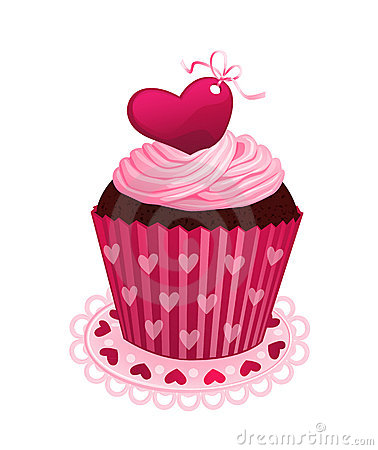Valentine Day Cupcake Royalty Free Stock Image Image