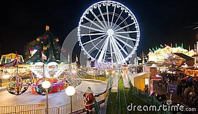 Winter Wonderland In London Editorial Photography Image