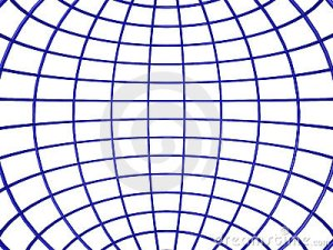 Wireframe Sphere Inside Royalty Free Stock Image  Image: 11717706