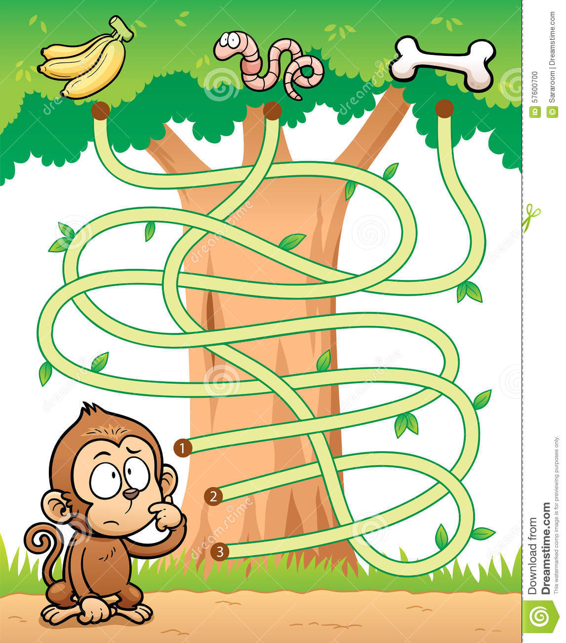 Education Maze Game Illustration De Vecteur Illustration