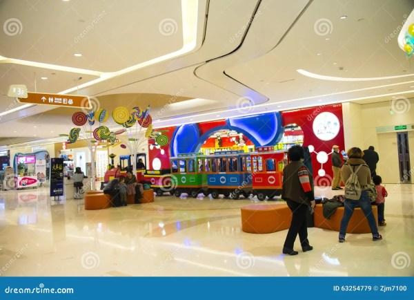 Азия Китай, Пекин, торговый центр Chang Ying Tian Jie ...
