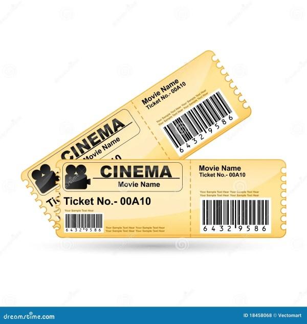 Картинка Билет В Кино