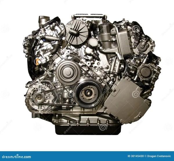 Двигатель автомобиля Hybryd от Мерседес Стоковое Фото ...