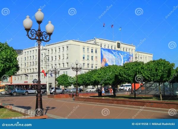 Здание муниципалитет на квадрате победы в Калининграде в ...