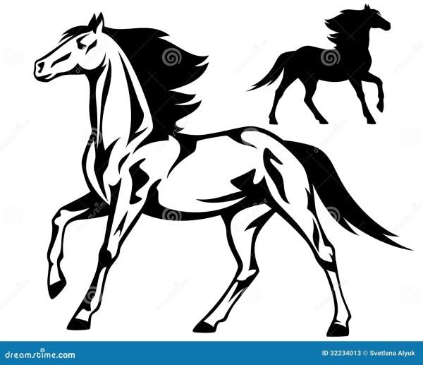 Идущая лошадь