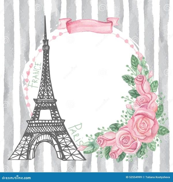 Карточка года сбора винограда Парижа Эйфелева башня ...