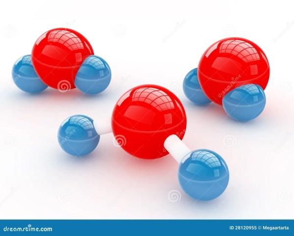 Молекулы воды Стоковое фото RF - изображение: 28120955
