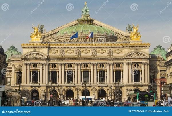 Национальный оперный театр Garnier Париж Франция