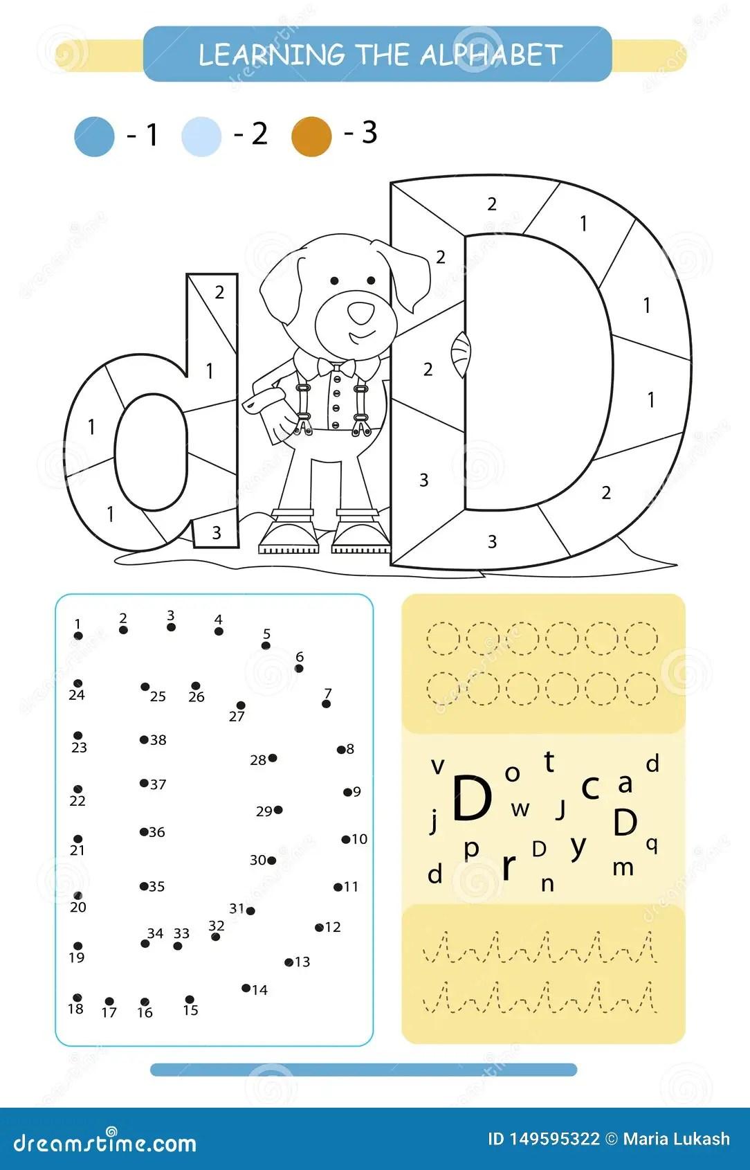 D Worksheet Stock Illustrations 338 D Worksheet Stock