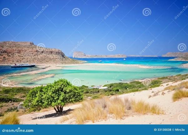 Пляж Balos, Крит, Греция стоковое фото. изображение ...